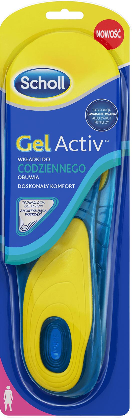 Scholl Wkładka GelActiv do codziennego obuwia damskie 38-42 1