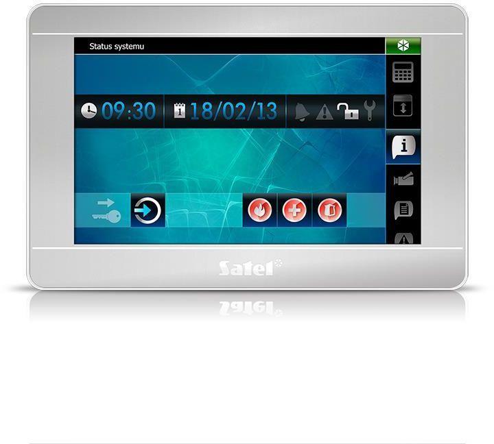 Satel Manipulator z ekranem dotykowym (INT-TSI-SSW) 1