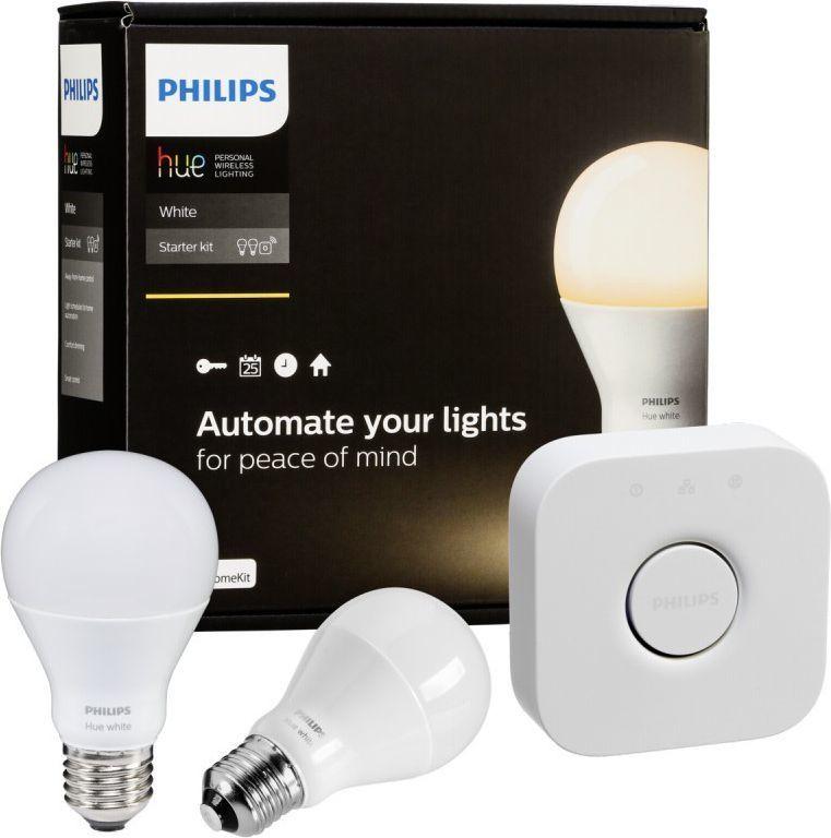 Philips Zestaw startowy Hue White LED E27 (8718696449554) 1