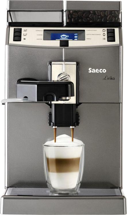 Ekspres ciśnieniowy Saeco Lirika One Touch Cappuccino Titan RI9851/01 1
