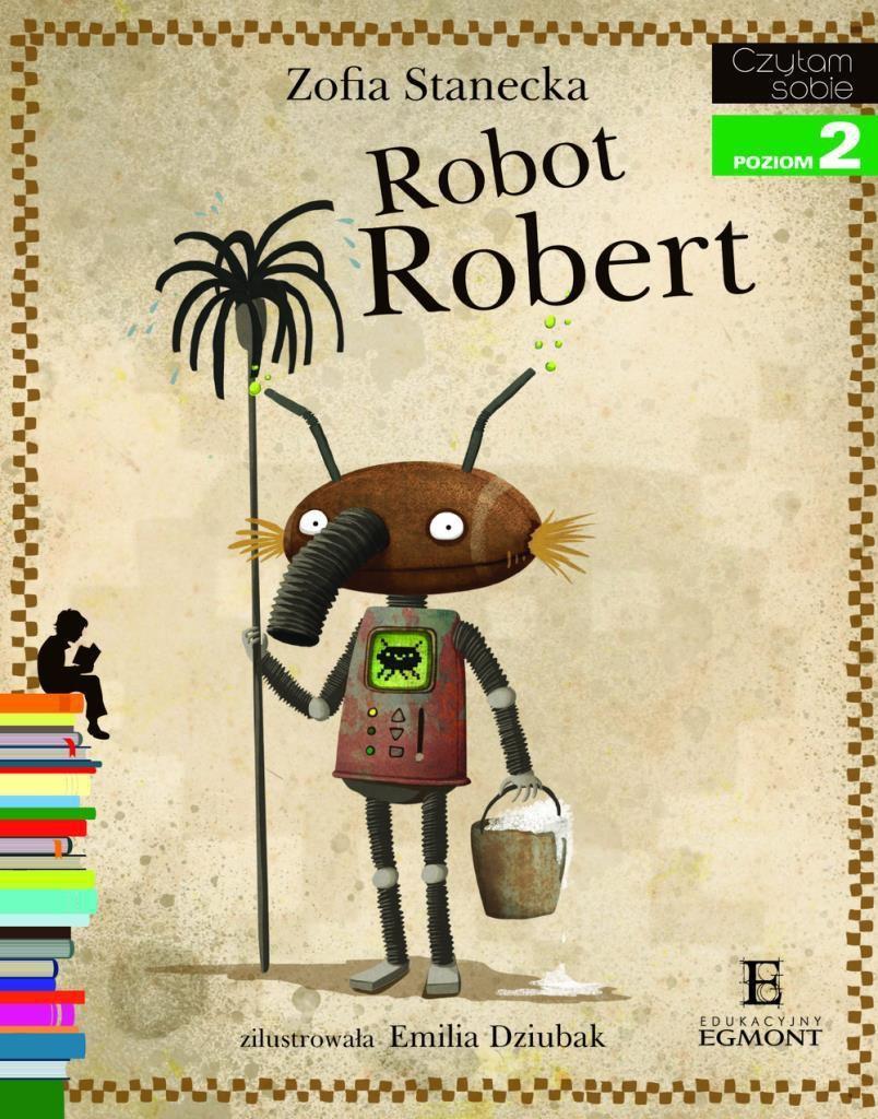 EGMONT Książka Robot Robert - 70893 1