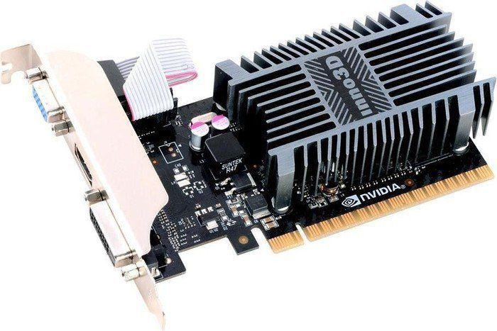 Karta graficzna Inno3D GeForce GT 710 2GB DDR3 (N710-1SDV-E3BX) 1