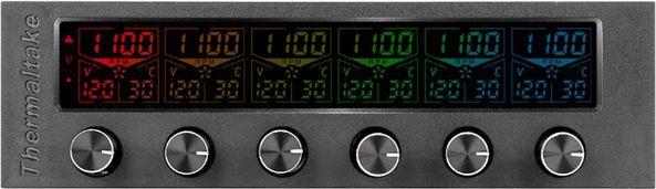 Thermaltake kontroler obrotów Commander F6 RGB (AC-024-BN1NAN-A1) 1