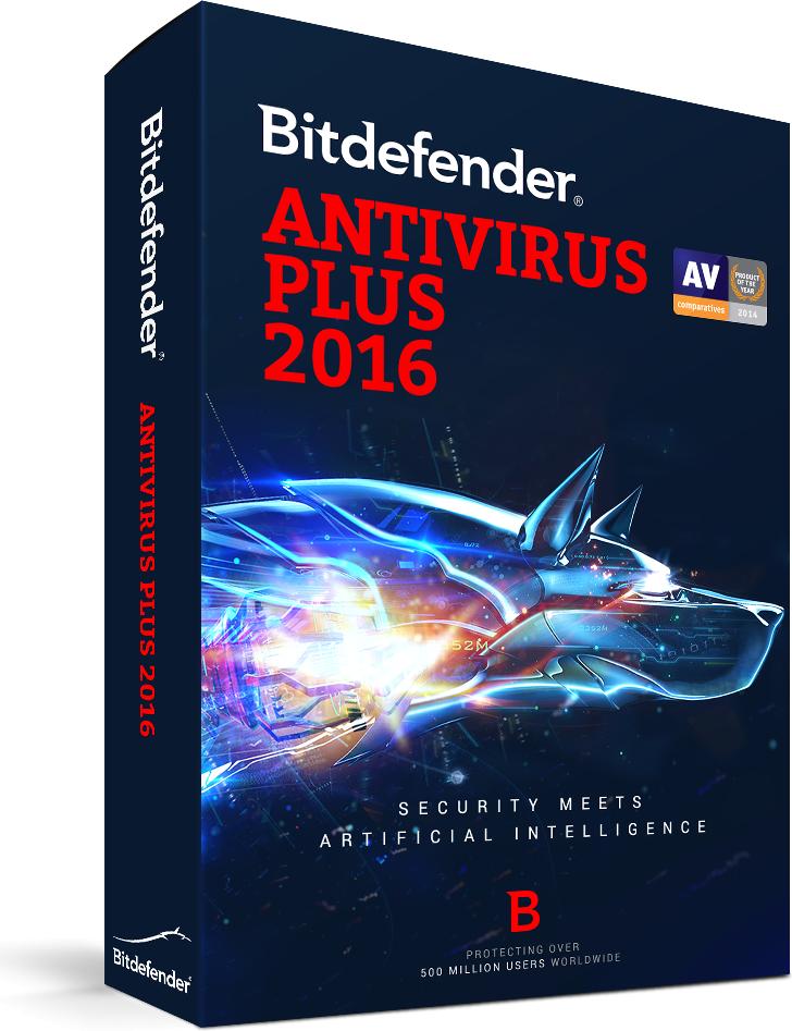 Bitdefender Antivirus Plus 2016 1 urządzenie 24 miesiące  (BDAV-N-2Y-1D) 1
