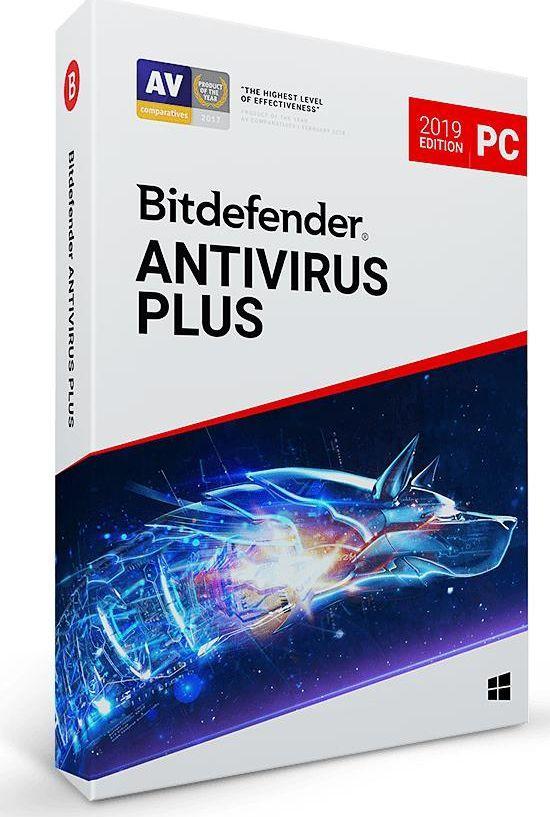 Bitdefender Antivirus Plus 2019 10 urządzeń 24 miesiące  (BDAV-K-2Y-10D) 1