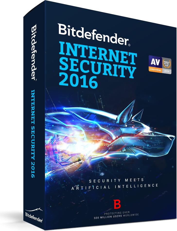 Bitdefender Internet Security 2016 3 urządzenia 24 miesiące  (BDIS-N-2Y-3D) 1