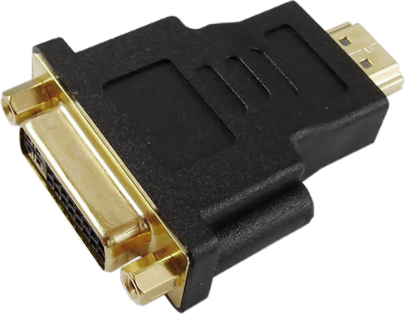 Adapter AV Akyga HDMI - DVI-I czarny (AK-AD-02) 1