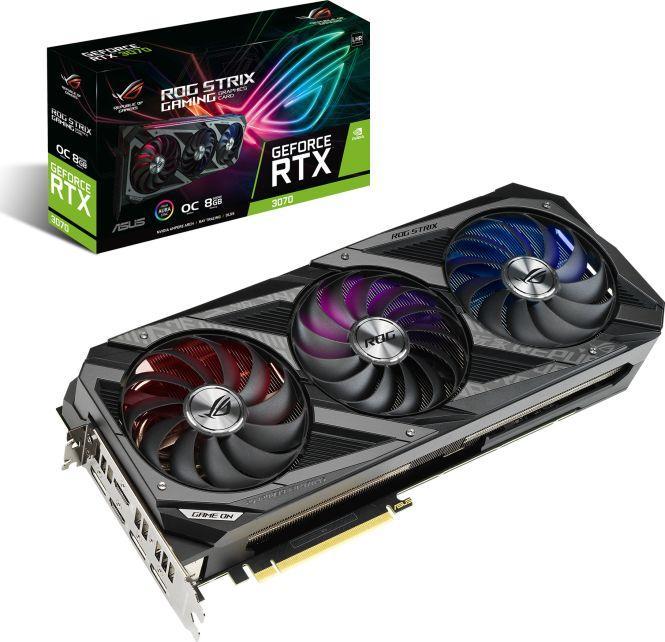 Karta graficzna Asus Rog Strix GeForce RTX 3070 Ti Gaming OC 8GB GDDR6X (ROG-STRIX-RTX3070TI-O8G-GAMING) 1