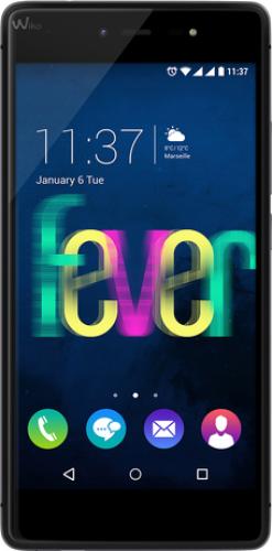 Smartfon Wiko Fever 16 GB Dual SIM Czarny  (FEVER CZARNY/SZARY) 1