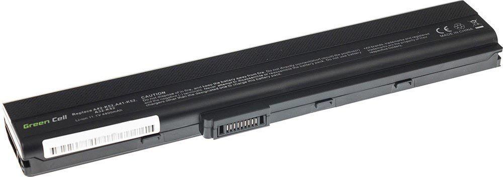 Bateria Green Cell A32-K52 Asus A52 A52F K52 K52D K52F K52J K52JC K52N X52 X52J (AS02) 1