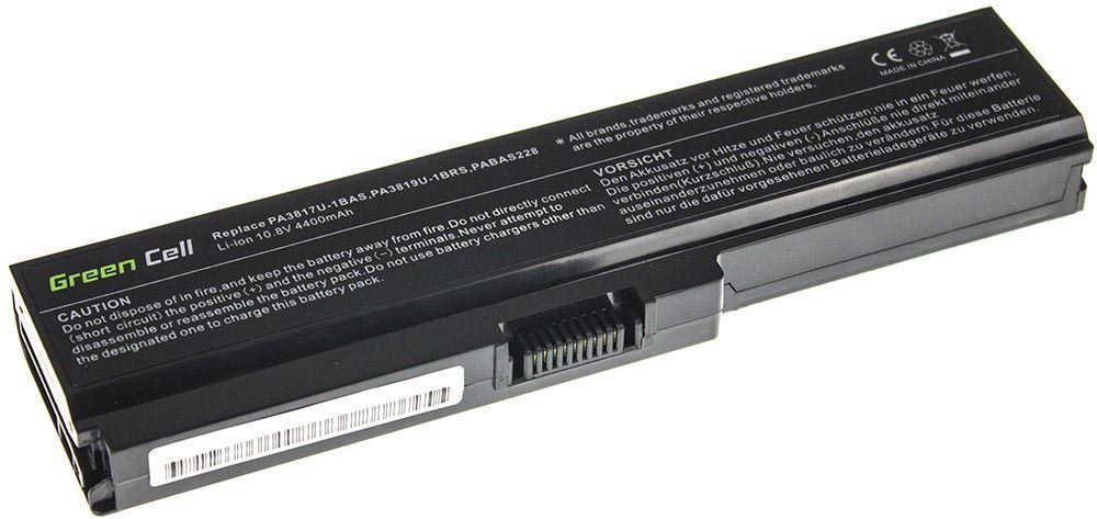 Bateria Green Cell PA3817U-1BRS Toshiba Satellite C650 C655 C660 C660D L650 L750 (TS03) 1