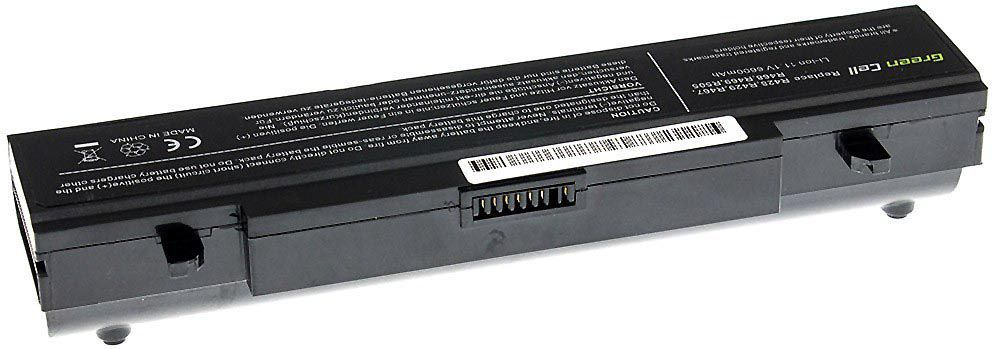 Bateria Green Cell do Samsung R519 R520 R522 R540 R580 R780 AA-PB9NC6B AA-PB9NS6B 11.1V 9 cell (SA02) 1