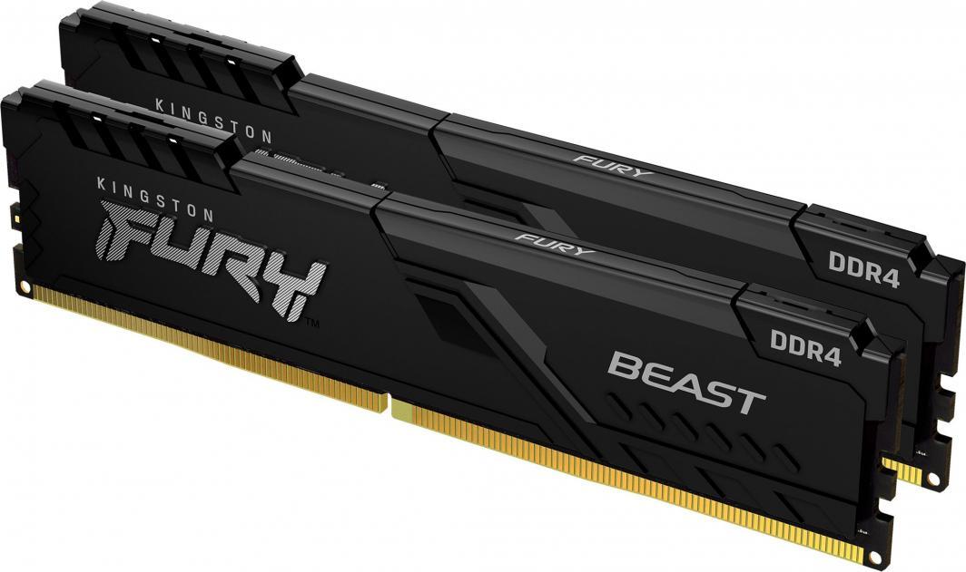 Pamięć Kingston Fury Beast, DDR4, 8 GB, 3200MHz, CL16 (KF432C16BBK2/8) 1