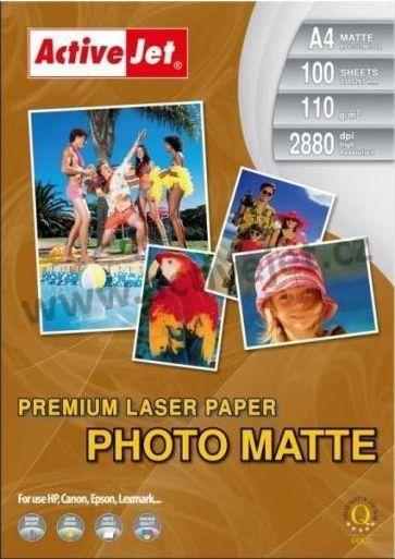Activejet papier fotograficzny matowy (P4-110M100L) 1