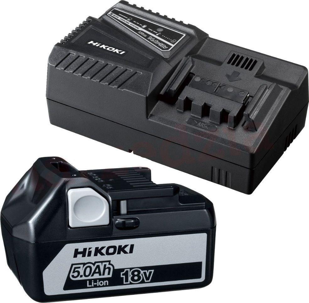 Hikoki Zestaw ładowarka+akumulator (UC18YFSL WAZ) 1