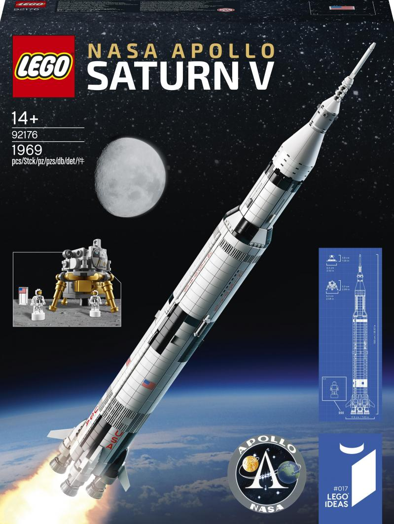 LEGO Ideas Rakieta Nasa Apollo Saturn V (92176) 1