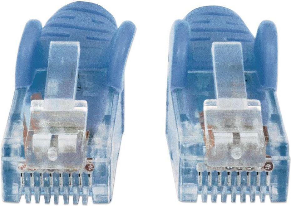 Intellinet Network Solutions Patchcord kat6, UTP, 1.5m, niebieski (342582) 1