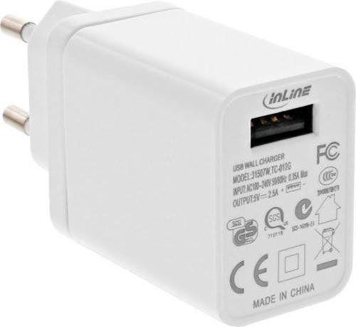 Ładowarka InLine Ładowarka USB 31507W 1