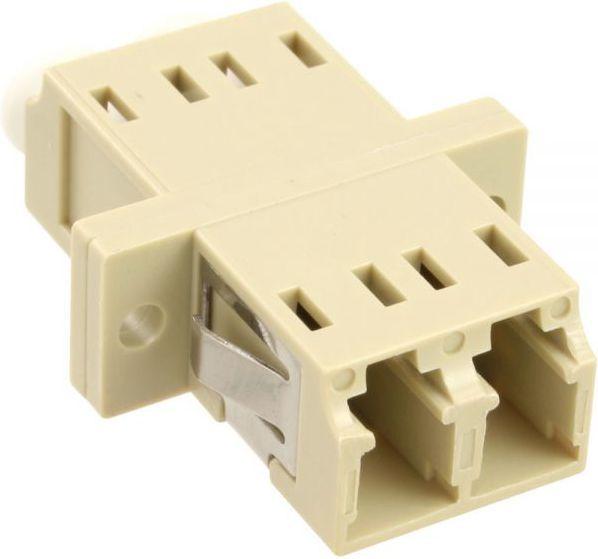 InLine Światłowodowy Adapter Duplex LC/LC MM, szary (89989K) 1
