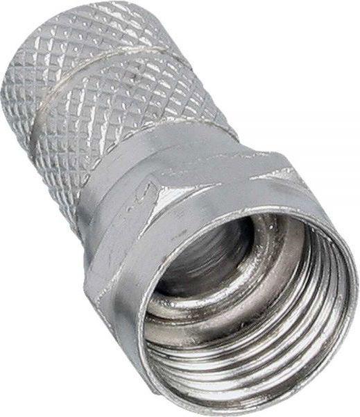 InLine F Wtyk męski na Coax Kabel - Kabel osłony 8.2mm (69910B) 1