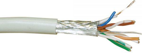 InLine Wytrzymały kabel instalacyjny S-FTP, Cat.5e, AWG24, CCA, halogen free, 300m (73300) 1