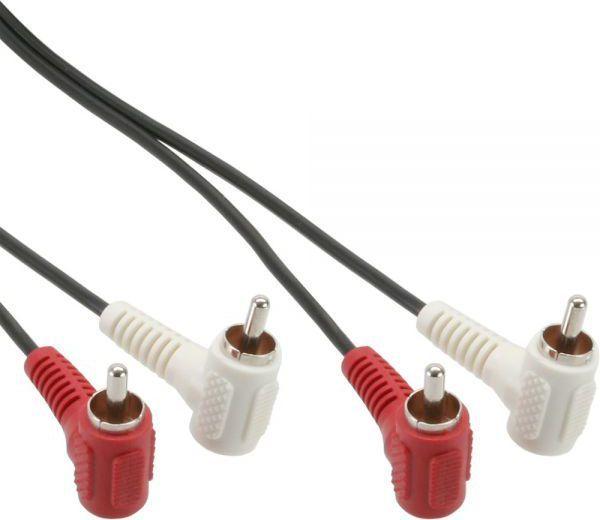Kabel Intos RCA (Cinch) x2 - RCA (Cinch) x2 1.2m czarny (89929) 1