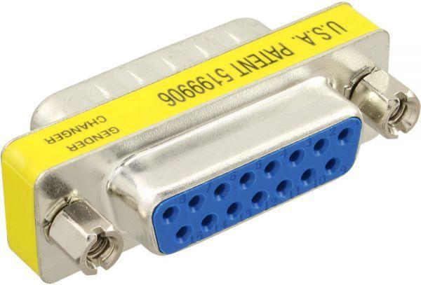 InLine Mini Adapter Gameport 15 Pin męski - żeński - 47719 1