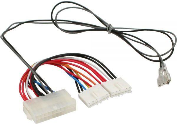 InLine Kabel zasilający 20 Pin ATX-NT - P8/P9 AT Board + Switch 20/80cm - 26641S 1