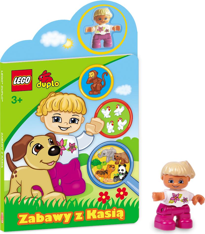 Książ. LEGO duplo Zabawy z Kasią - LHS1 1