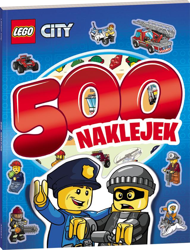 Ameet Książ Lego City 500 Naklejek Lbs11 W Digitalopl