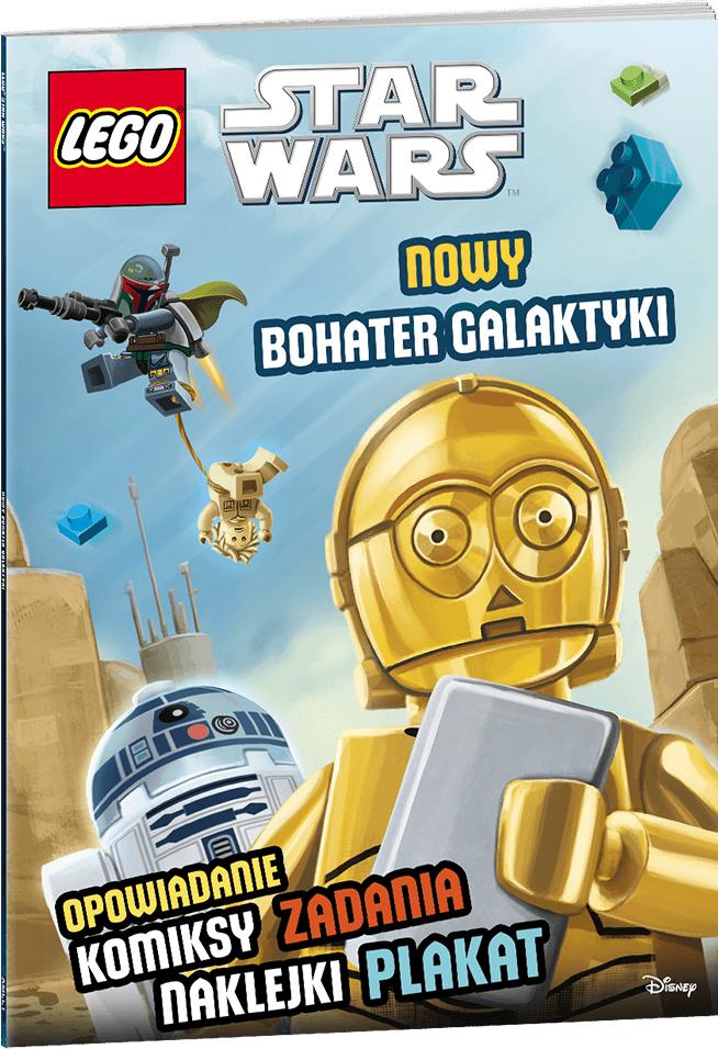 Książ. LEGO Star Wars Nowy Bohater Galaktyki - LND304 1