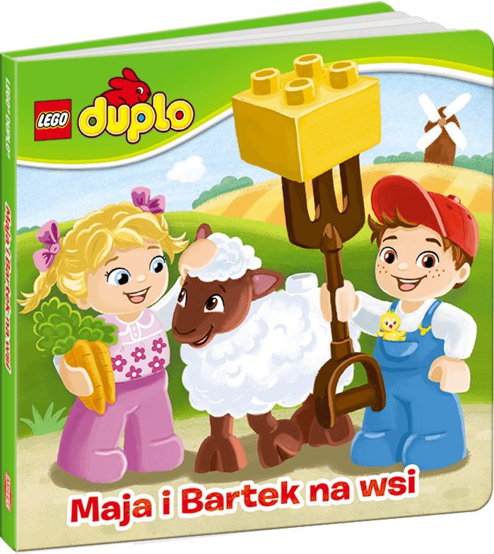 Książ. LEGO DUPLO Maja i Bartek na wsi - LDR1 1