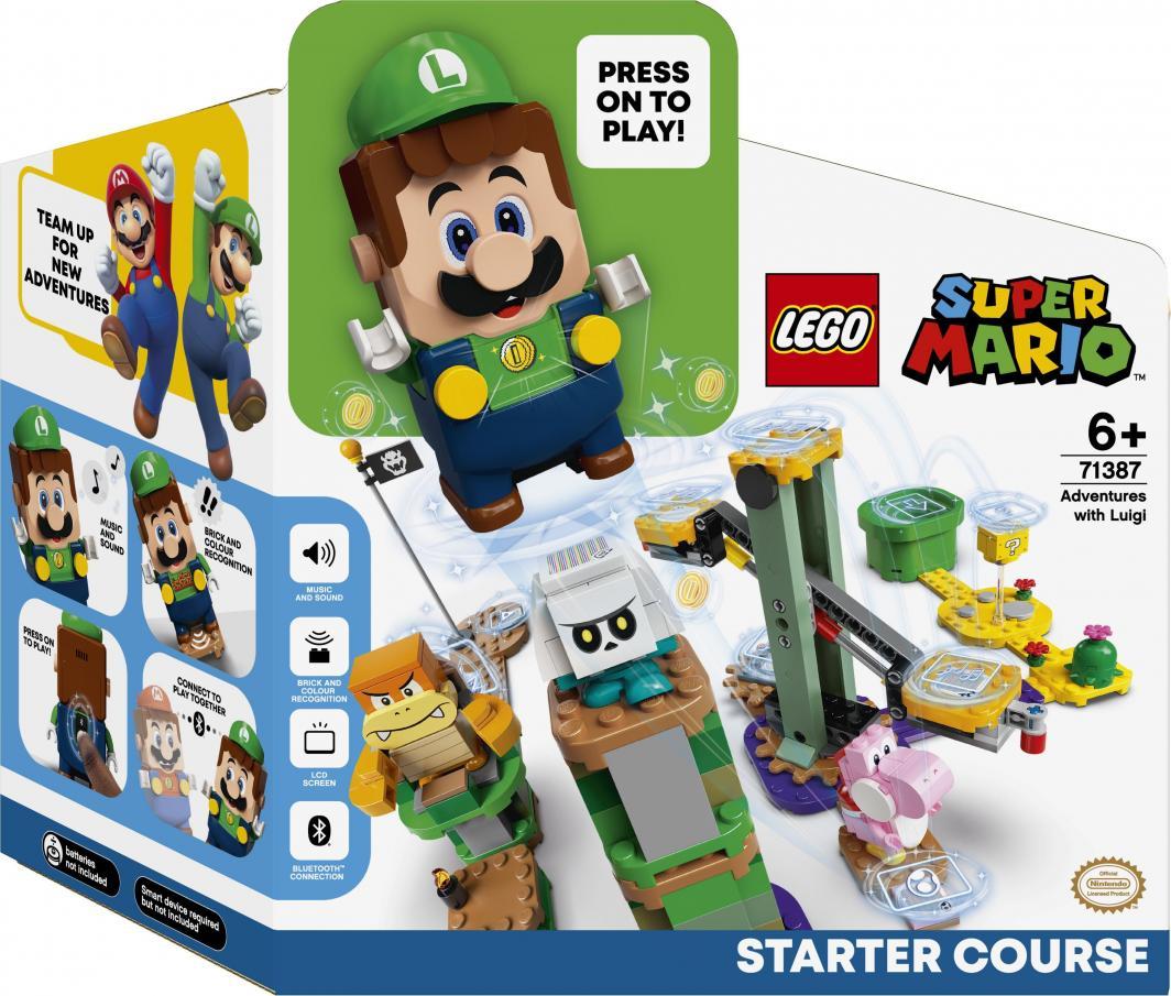 LEGO Super Mario Przygody z Luigim - zestaw startowy (71387) 1
