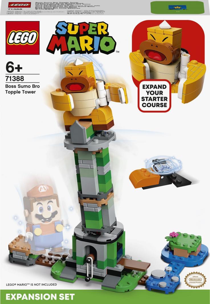 LEGO Super Mario Boss Sumo Bro i przewracana wieża - zestaw dodatkowy (71388) 1