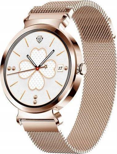 Smartwatch Bakeeley SD-1 Różowe złoto  1