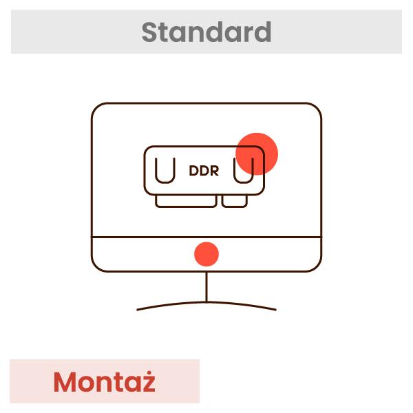 Montaż pamięci w PC lub Laptopie + test 1