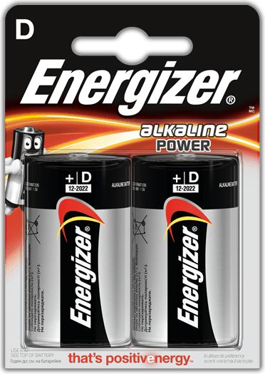 Energizer Bateria Power D / R20 2szt. 1