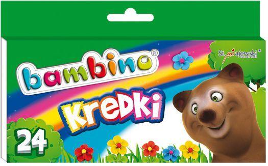 Bambino Kredki BAMBINO, 24 kolory, licencja BAMBINO 1