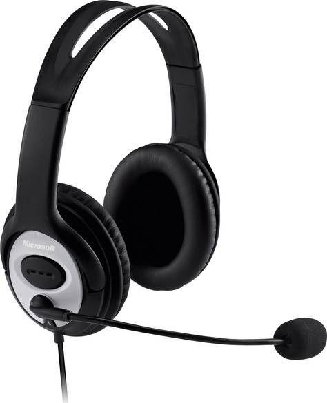 Słuchawki z mikrofonem Microsoft LifeChat LX-3000 (JUG-00014) 1