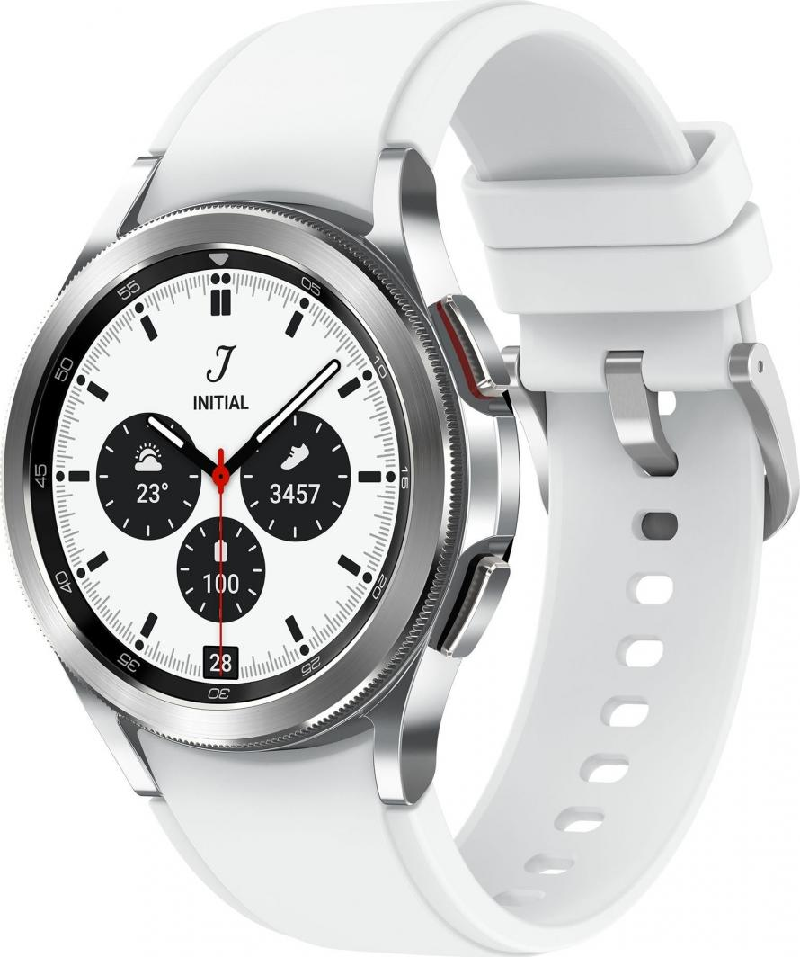 Smartwatch Samsung Galaxy Watch 4 Classic Stainless Steel 42mm Szary  (SM-R880NZSAEUE) 1