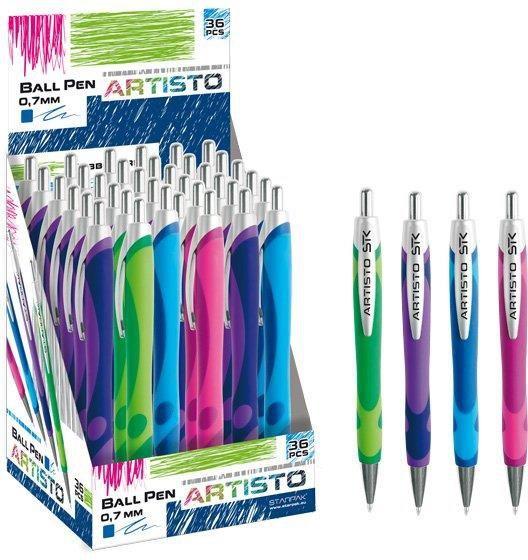 Starpak Długopis aut. 0,7 ARTISTO - 292782 1