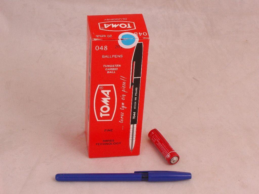 Toma Długopis Medium niebieski - TO-048 12 1