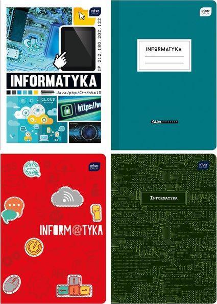 Interdruk Zeszyt 60k kratka Informatyka 1
