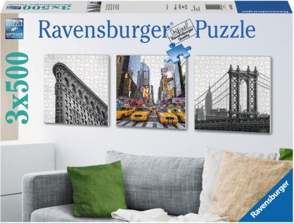 Ravensburger 3X500 EL. Nowy Jork - 199235 1