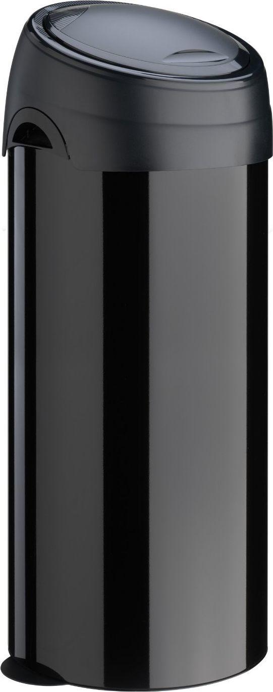 Kosz na śmieci Meliconi Soft-Touch na przycisk 40L czarny (14001253106BB) 1