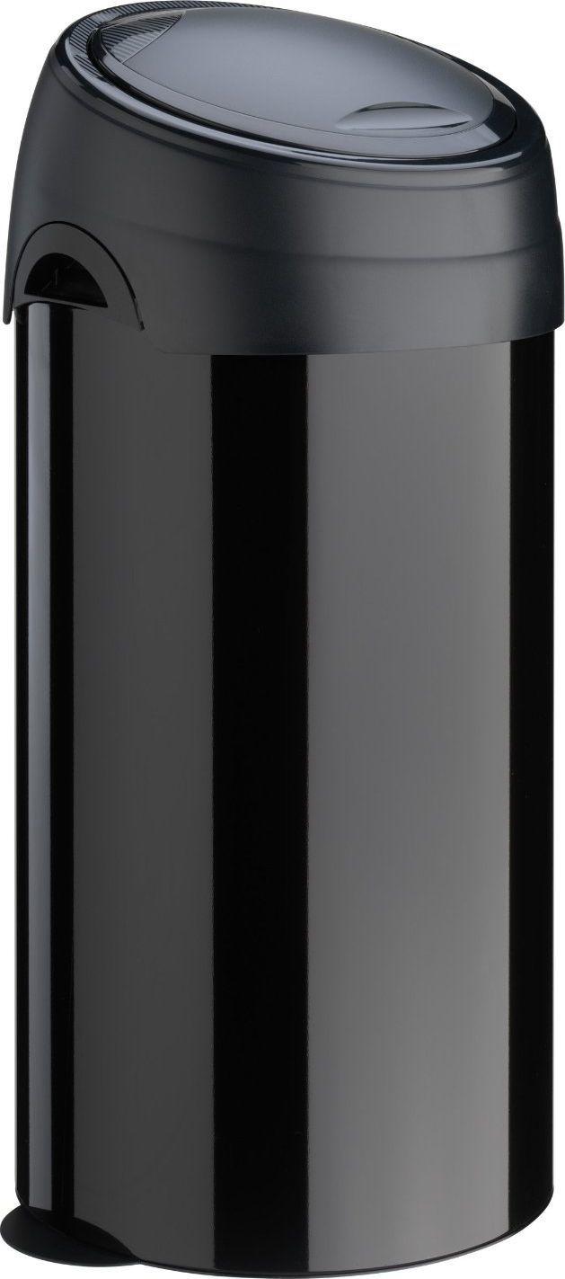 Kosz na śmieci Meliconi Soft-Touch na przycisk 60L czarny (14000553106BD) 1