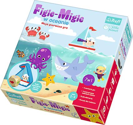 Trefl Gra planszowa Little Planet Figle migle w oceanie (01381) 1