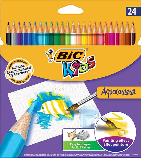 Bic Aquacoleur 24 kolorów - 8575633 1