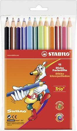 Corex Stabilo Kredki Trio 12 kol. (203/12-02) 1