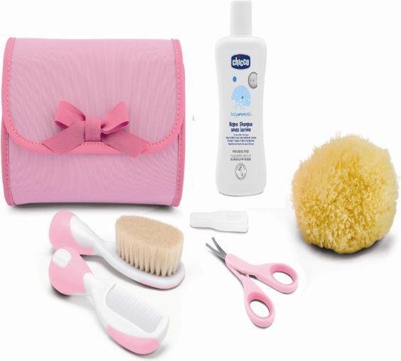 Chicco Zestaw akcesoriów do higieny różowy 1